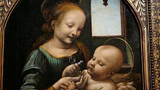 Ünlü ressam da Vinci'nin 500. ölüm yıl dönümü nedeniyle Louvre Müzesi'nde özel sergi açılıyor