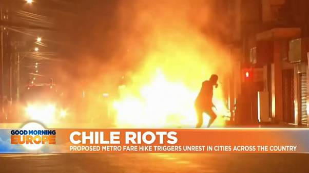 Chile's President offers rescue package amid violent protests