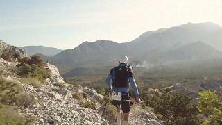Un ultra trail de 118 kilomètres à travers la Croatie