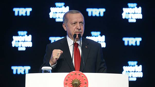 Cumhurbaşkanı Erdoğan'dan Suriye'de operasyon eleştirisi: Tüm Batı teröristlerin yanında yer aldı