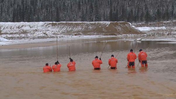 Κατέρρευσε παράνομο φράγμα στη Σιβηρία