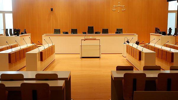 قاعة المحكمة في باريس- أرشيف رويترز