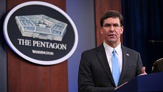 Pentagon: Suriye'de petrol yataklarının bulunduğu bölgelerde ABD askeri kalabilir