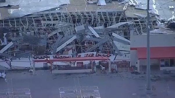 Tornádók pusztítottak Texas északi vidékein vasárnapról hétfőre virradóan