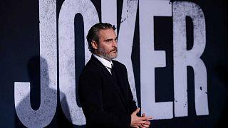 """Joaquin Phoenix, lors de la première du film """"Joker"""" à Los Angeles le 28 septembre 2019"""