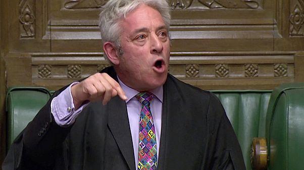 Nem engedte a brit alsóház elnöke, hogy szavazzanak a brexit-megállapodásról