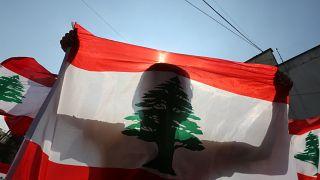 Manifestation anti-gouvernementale à Nabatiyeh (Liban), le 21/10/2019