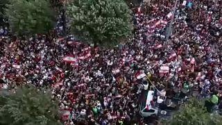 Δεν πείθονται οι διαδηλωτές από τις μεταρρυθμίσεις Χαρίρι