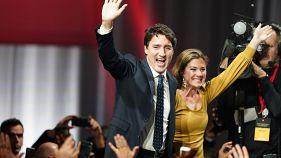 نتایج اولیه انتخابات کانادا؛ جاستین ترودو در راه تشکیل دولت اقلیت