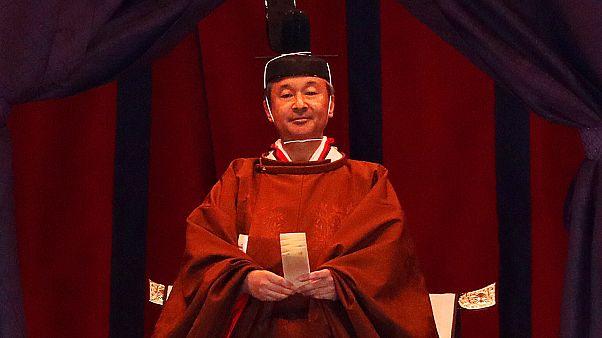 إمبراطور اليابان الجديد ناروهيتو الذي اعتلى العرش رسمياً اليوم. 22/10/2019