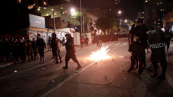 اعتراض مخالفان مورالس به نتایج انتخابات ریاست جمهوری بولیوی