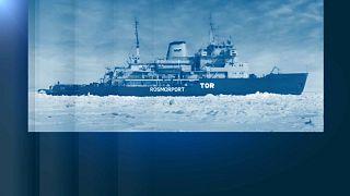 Llamada de socorro de un rompehielos ruso en Noruega, que luego anula