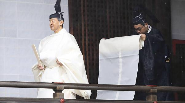 Japan's Emperor Naruhito ascends Chrysanthemum Throne