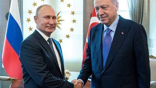 Siria, giornata campale. Erdogan incontra Putin, Assad visita le sue truppe
