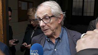 Regisseur Ken Loach in Lyon.