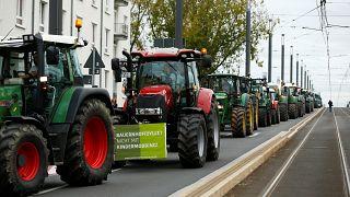 Agrarpolitik: Deutsche Bauern gehen auf die Barrikaden