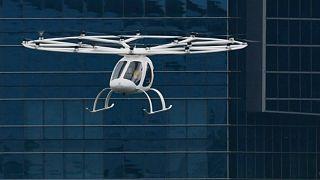Geleceğin taksileri uçmaya başladı: Volocopter'den Singapur'da ilk test