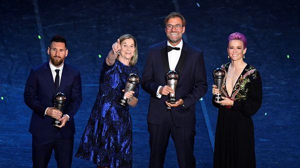 Messi y Rapinoe encabezan la lista de nominados al Balón de Oro