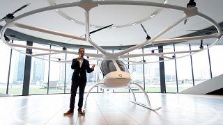 فلوريان الرئيس التنفيذي لشركة فولوكوبتر الألمانية الناشئة  22 أكتوبر/ تشرين الأول 2019