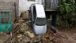 Inondations dévastatrices dans le Piémont