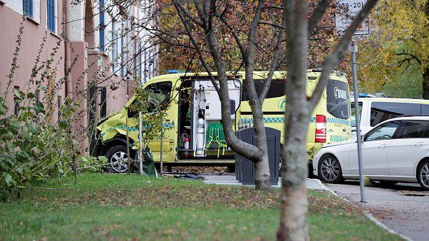 Für die Amokfahrt genutzter Krankenwagen