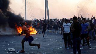 Rapor: Irak'ta göstericilerin çoğu kafalarından ve göğüslerinden vuruldu