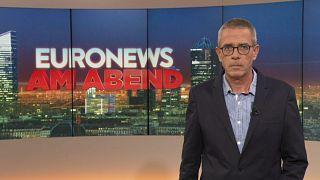 Euronews am Abend vom 22.10.2019