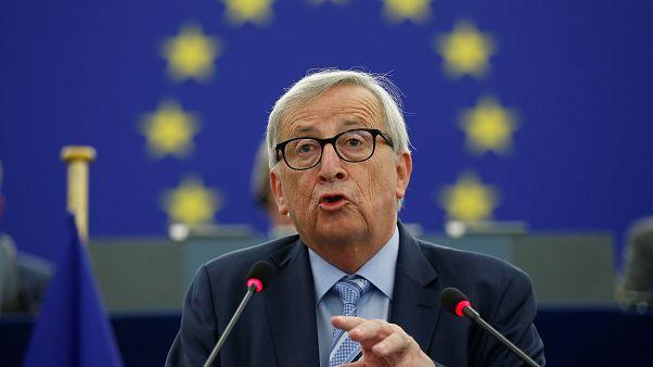 """Cuidem da Europa"", pediu Juncker ao Parlamento Europeu"