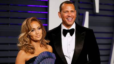 J. Lo and Arod at the 91st Academy Awards earlier this year