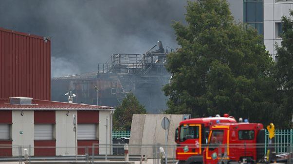 Incendie de l'usine Lubrizol à Rouen, le 26/09/2019