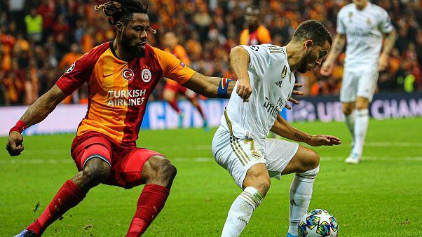 Galatasaray Şampiyonlar Ligi'nde Real Madrid'e kendi evinde 1-0 mağlup oldu