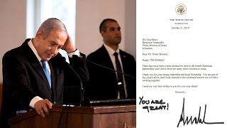 Trump'tan Netanyahu'ya doğum günü mektubu: 'Muhteşemsin!'