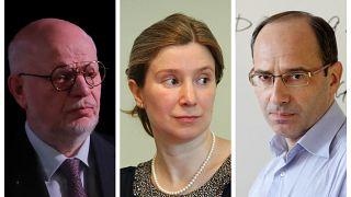 Михаил Федотов, Екатерина Шульман и Илья Шаблинский