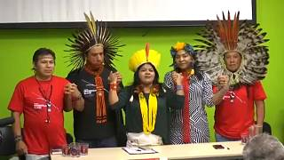 Indígenas alertam em Roma para crise no Brasil
