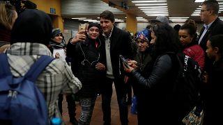 Καναδάς: Σέλφι με τον Τζάστιν Τρουντό στο μετρό