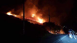 Μεγάλη πυρκαγιά στο Πόρτο Ράφτη