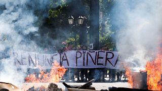 Cile: le promesse del presidente Piñera dopo gli scontri di piazza