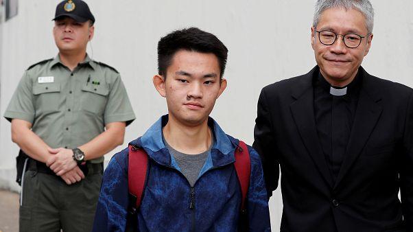 شاهد: إطلاق سراح الرجل الذي أشعلت قضيته شرارة الاحتجاجات في هونغ كونغ