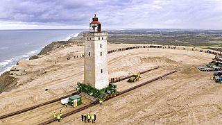 70 méterrel vittek odébb egy dán világítótornyot