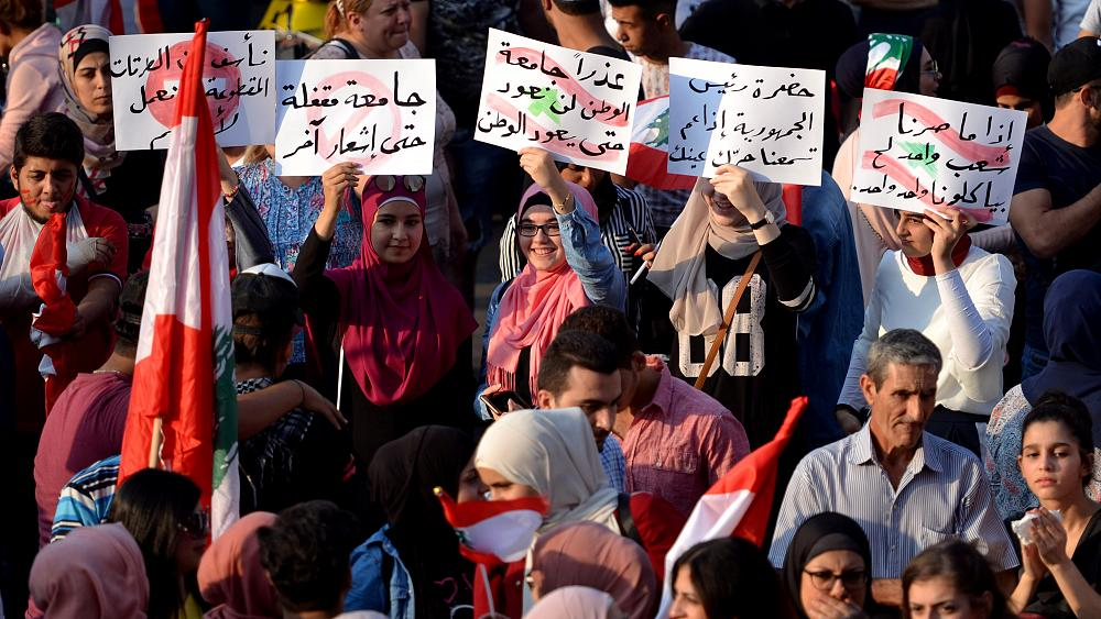 Lebanon protests: are bots fuelling counter demonstrations?