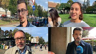 Wir haben Menschen in Mailand und Barcelona zum Johnson und Juncker befragt