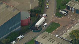 В британском Эссексе нашли грузовик с 39 трупами, ведется следствие