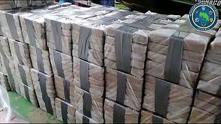 Un alijo de 1420 kilos de cocaína es interceptado en Costa Rica