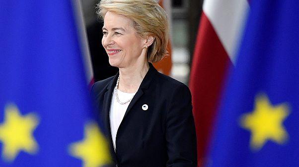Von der Leyen trifft Ersatzkandidaten aus Frankreich und Ungarn