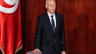 Kaïs Saied jura como nuevo presidente de Túnez