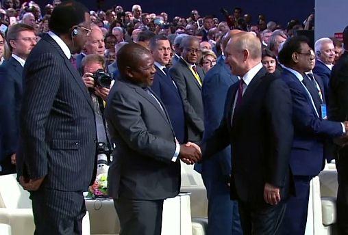 Σύνοδος Κορυφής Ρωσίας-Αφρικής στο Σότσι