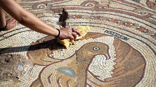 İsrail'de 6'ncı yüzyıldan kalma 'şehit savaşçı' adına yapılmış bir kilise keşfedildi