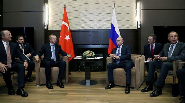 نگاهی به توافقنامه پوتین و اردوغان برای پایان درگیریها در شمال سوریه
