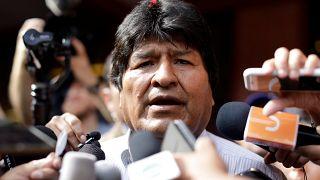 El presidente y candidato de Bolivia, Evo Morales en la región del Chapare, Bolivia, el 20 de octubre de 2019.