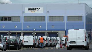 Das Amazon Werk in Mannheim